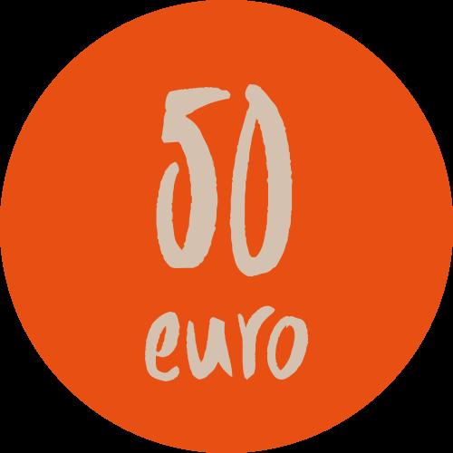 Donazione 50 euro